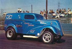 Vintage Drag Racing - Gasser - Pearce Trucking at Lions Drag Strip