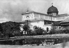 Manila Cathedral, Intramuros, Manila, Philippines c1930s by John T Pilot, via Flickr