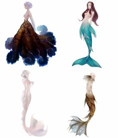 Sirena Mythical Creatures Art, Magical Creatures, Fantasy Creatures, Mermaid Drawings, Mermaid Art, Art Drawings, Fantasy Character Design, Character Drawing, Character Design Inspiration