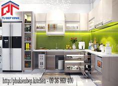 Trang trí phòng bếp tiện nghi và sang trọng với phụ kiện tủ bếp Higold