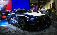 Dragg Mustang EcoBoost Cop Car