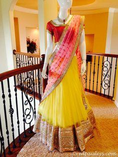 Online Shopping for Women's Ethnicwear Designer Sarees, Designer Bridal wear Lehenga choli, Gowns, Anarkali dresses and Salwar suits, kurties Lehenga Saree Design, Half Saree Lehenga, Lehnga Dress, Sari, Lehenga Designs, Anarkali, Net Lehenga, Indian Bridal Outfits, Indian Bridal Wear