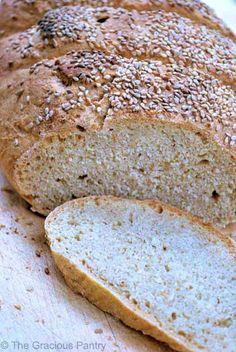 Clean Eating Bread ~ http://www.thegraciouspantry.com