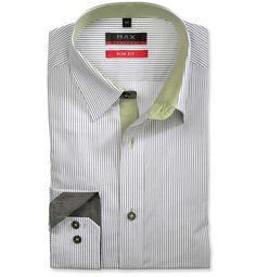 Slim Fit priliehavá biela štrukturovaná košeľa Popelín (plátnová tkanina) Leto, Shirt Dress, Mens Tops, Shirts, Dresses, Fashion, Vestidos, Moda, Shirtdress
