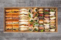 Bread Project: Gourmet Sandwiches, Mini Wraps, Mini Baguettes, and Mini Rustic Rolls - Catering Project Sydney Gourmet Sandwiches, Picnic Sandwiches, Finger Sandwiches, Wedding Sandwiches, High Tea Sandwiches, Breakfast Sandwiches, Wrap Sandwiches, Comida Picnic, Sandwich Platter