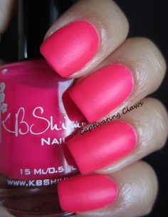 Captivating Claws- KBShimmer Don't Pink Twice
