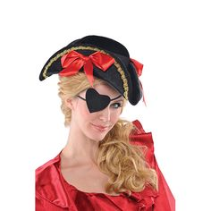 Pirate Heart Eye Patch Wally S Party Factory