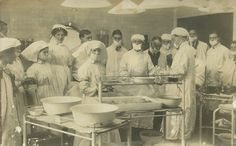 Unidentified Operating Theatre scene. Possibly relating to Newcastle on Tyne