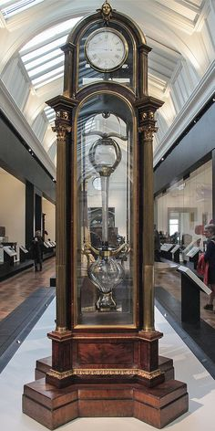 Perpetual motion clock, about 1765, James Cox(about 1723-1800) and John Joseph Merlin (1735-1803), London-England