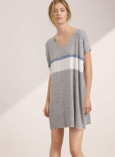 Shop mini dresses from Aritzia and its exclusive brands. White Wedges, Altered Couture, Daytime Dresses, Put On, Shirt Dress, T Shirt, Must Haves, Button Down Shirt, My Style