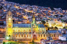 Quito y su Basílica del Voto Nacional - Quiniela Traveler: los destinos a los…