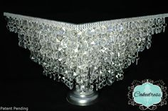 Crystal Wedding Cake Stand Chandelier StylePatent by CakeDress, $280.00