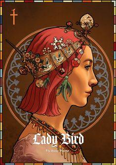 """ArtStation - Christine """"Lady Bird"""", John Dervishi"""