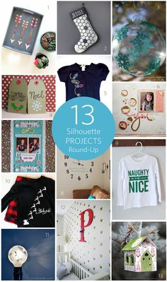 Silhouette America Blog | 13 Silhouette Projects Round-Up