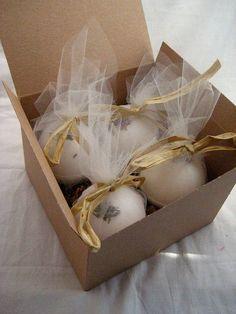 Ideas packaging productos tela de tul