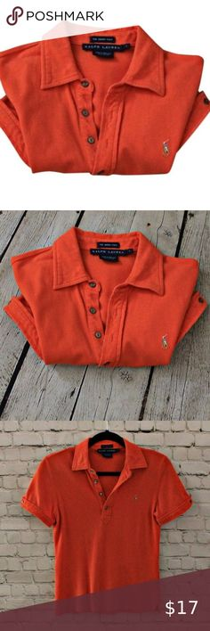 Ralph Lauren The Skinny Polo Petite L Good condition, measurments chest, waist, length - 30, 30, 22. Ralph Lauren Tops