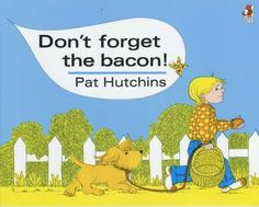 Don't Forget The Bacon by Pat Hutchins, available at Book Depository with free delivery worldwide. Two Brothers, Kids Reading, My Childhood, Childrens Books, Growing Up, Don't Forget, Bacon, Nostalgia, Fiction