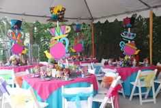 Mad Hatter/Alice in Wonderland Birthday Party Ideas | Photo 18 of 24 | Catch My Party