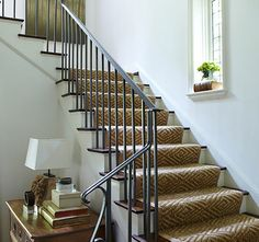 Liz Hand Woods + Stair Runner