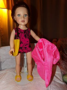 Pink & black swimsuit pink coverup yellow by KelleysKreationsLV, $16.95