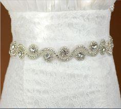 ** 4,89 free ** 1wedding bride crystal rhinestone flower handmade dress belt  bridal jewelry accessories-in Hair Jewelry from Jewelry on Aliexpress.com | Alibaba Group