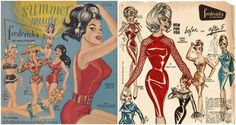 """Sex Signals: Trashy Illustrations from Vintage """"Frederick's of Hollywood"""" Catalogs - Dangerous Minds"""