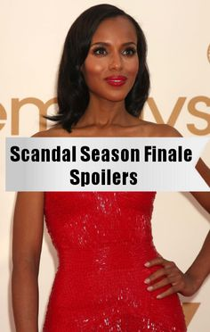 Kerry Washington: Scandal Season Finale Secrets