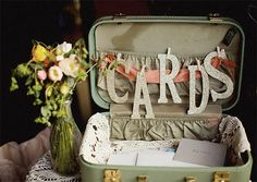 love this! - have seen this done at quite a few weddings lately!