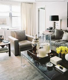 really good coffee table styling