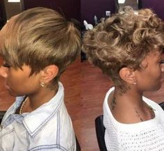 Gorgeous Black Girls with Short Hair
