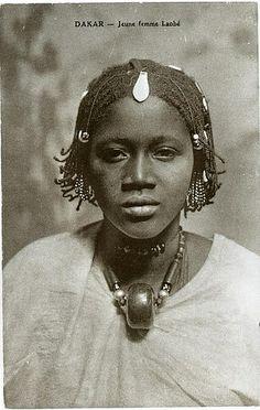 Laobe girl, Senegal