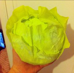 How to make theatre props - fake food, fake lettuce