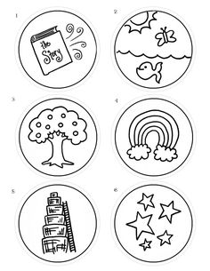 JSB Advent Ornaments 1 to 6
