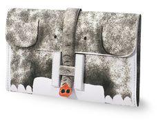 Herm¨¨s Jige paper clutch. Download, print, color, cut, fold, glue ...
