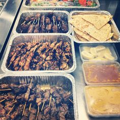 Some Mediterranean meat platters that went out this weekend