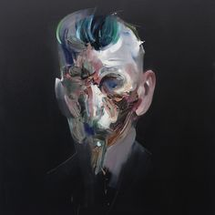 Painting by Ryan Hewett