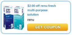 $2/1 Renu Fresh Multipurpose Solution