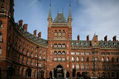 London St Pancras by stevecadman, via Flickr