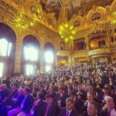 The beautiful Opera Garnier Monte-Carlo inspiring world leading entrepreneurs during the #weoy! Repost from @marlyparra1