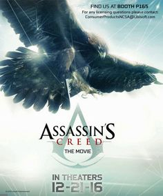 Assassin's Creed The Movie : Une première affiche officielle   Gamer Network