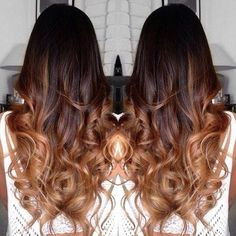 If you would like to have a change on your hair color, then perhaps you should take into account the balayage hair color ideas. Balayage technique is known for Brown Ombre Hair, Ombre Hair Color, Hair Color Balayage, Hair Highlights, Brown Highlights, Blonde Ombre, Caramel Highlights, Carmel Ombre Hair, Neutral Blonde