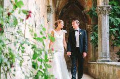 Photography: Alessio Quartaroli & Marta Puglia - studioaq.com Wedding Venue: Castello Di Vincigliata - castellodivincigliata.it Wedding Dress: Manuel Mota (Pronovias) - www.pronovias.com   Read More on SMP: http://www.stylemepretty.com/destination-weddings/2015/01/13/elegant-tuscany-castle-wedding/