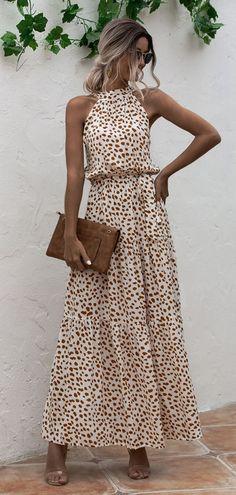 Floor-Length Hollow Sleeveless A-Line Vacation Halter Printed Women's Dress - Name:Floor-Length Hollow Sleeveless A-Line Vacation Halter Printed Women's DressCategory:Women/Women's Clothing/Women Dresses/Day DressesSize & Elegant Party Dresses, Halter Maxi Dresses, Prom Dresses, Occasion Dresses, Occasion Wear, Boho Dress, Pretty Woman, Vintage Dresses, Plus Size