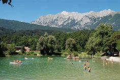 WEISSLAHN - Badesee und Freizeitzentrum in Terfens im Familienurlaub Tirol, Baden mit Kindern im Karwendel