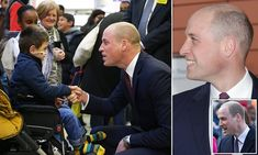 Prince William sports shaven head as he backs NHS armed forces scheme