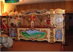 Image result for band organ carvings