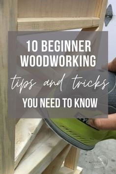 This is great! The simple beginner woodworking tips and tricks no one tells you and I wish I had known when I first started! #anikasdiylife Beginner Woodworking Projects, Woodworking Tips, Wood Working For Beginners, Need To Know, Easy Diy, Life, Simple, Home Decor, Decoration Home