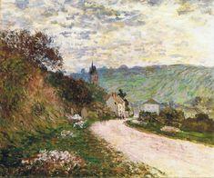 The Route a Vetheuil, 1878, Claude Monet