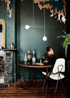 gruene-wandfarbe-tipps-anna-von-mangoldt-apartmenttherapy www, Innenarchitektur ideen