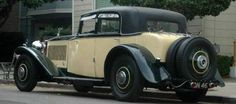 1930 Touring Saloon by Carlton (chassis 46GX)